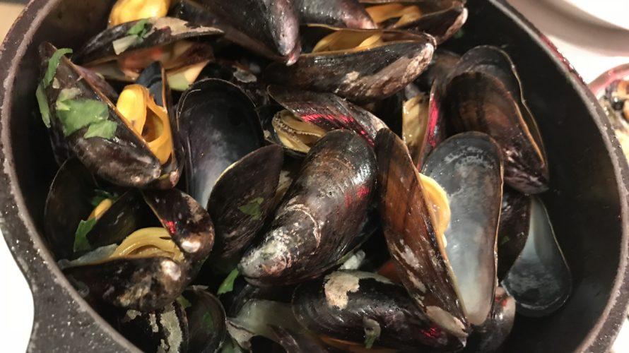 【ベルギー旅行記】ムール貝をブリュッセルの名店で食す